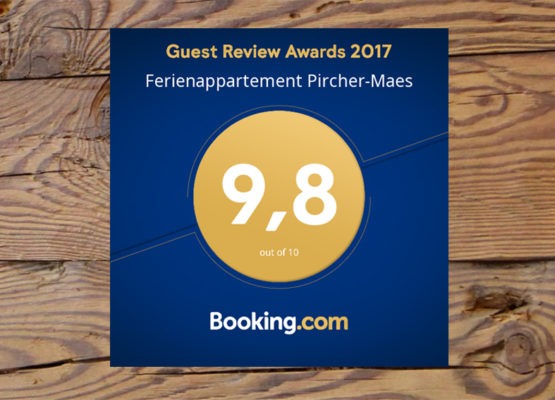 Booking.com award winner