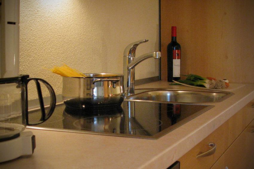 Appartement Pircher-Maes in Telfes im Stubaital Kochbereich