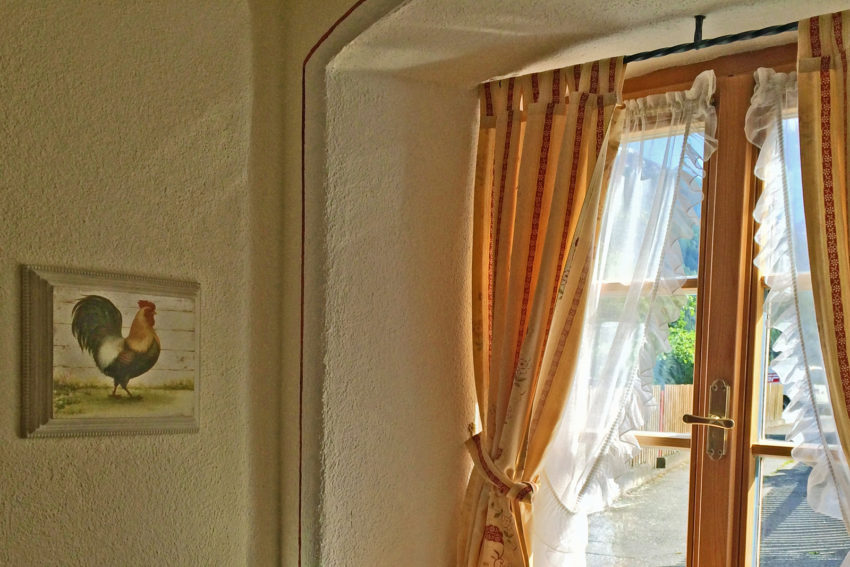 Appartement Pircher-Maes in Telfes im Stubaital Blick aus dem Fenster