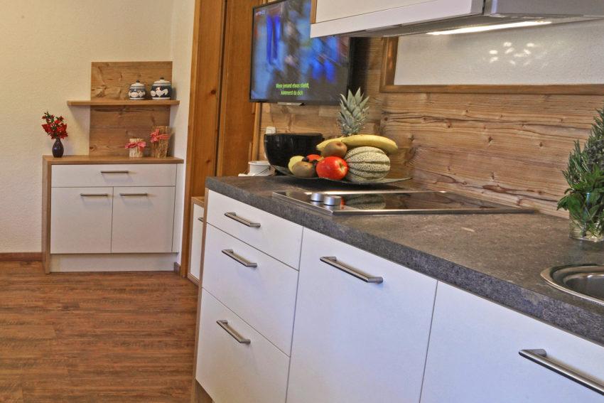 Pircher-Maes Appartements - Viel Platz in der Wohnküche des Appartement Tirol