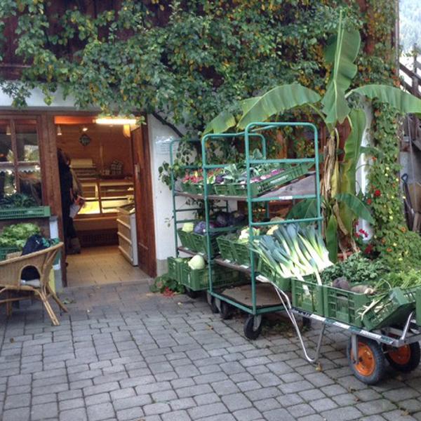 Appartement Tirol - Bauernladen um die Ecke