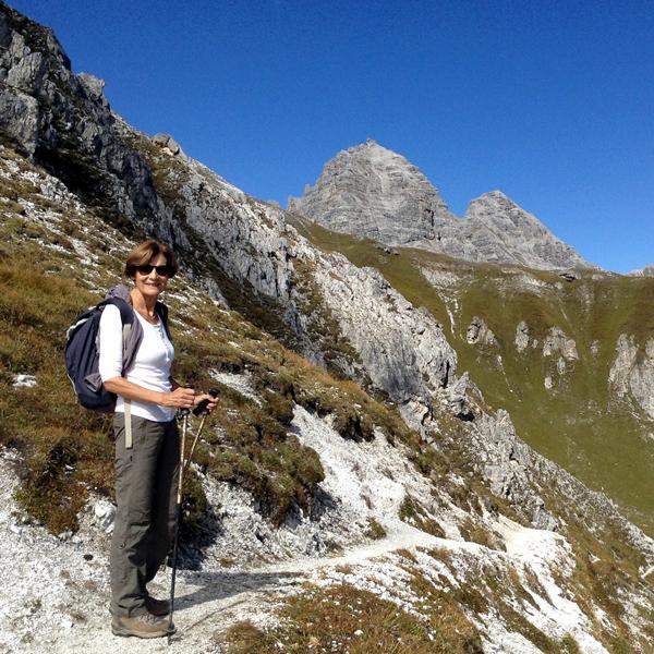 Appartement Tirol - Wanderung in der Schlick
