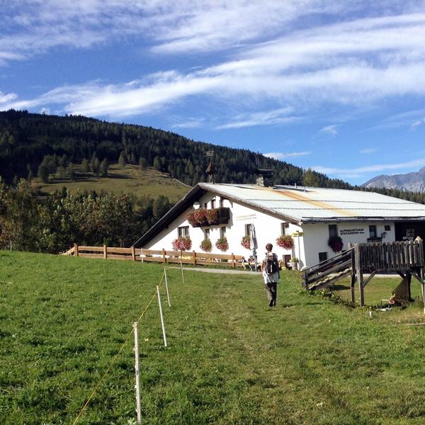 Appartement Tirol - Wanderung zum Stockerhof