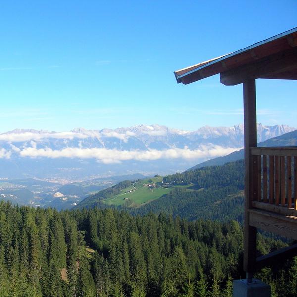 Appartement Tirol - Wanderung mit Aussicht nach Innsbruck