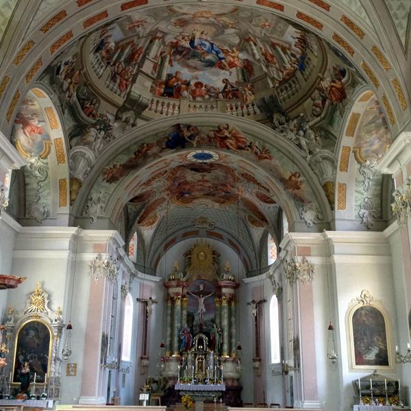 Appartement Tirol - Kirche von Telfes Altar
