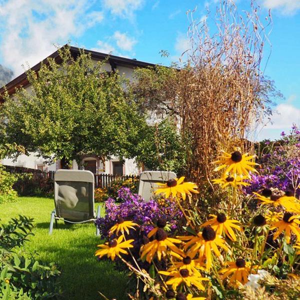 Appartement Stubai - Entspannen im Garten