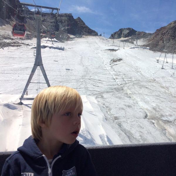 Appartement Stubai - Ausflug auf den Stubaier Gletscher. Schnee im Sommer!
