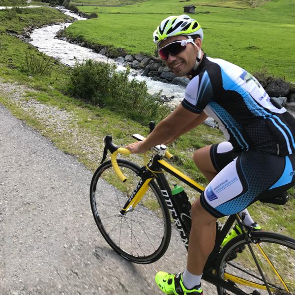 Appartement Stubai - Rennrad Tour durchs Stubaital