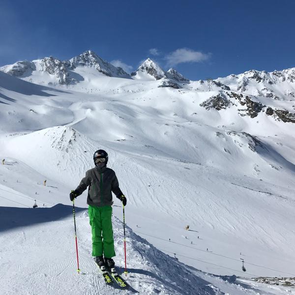 Appartement Pircher-Maes - Herrliches Bergpanorama am Stubaier Gletscher
