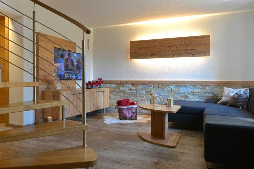 Appartement Pircher-Maes im Tiroler Stubaital Wohlfühlen im Badezimmer App Alpenlodge