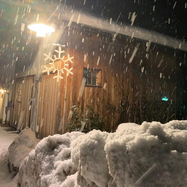Appartement Pircher-Maes - Schneefall in Dorf - unvergesslich