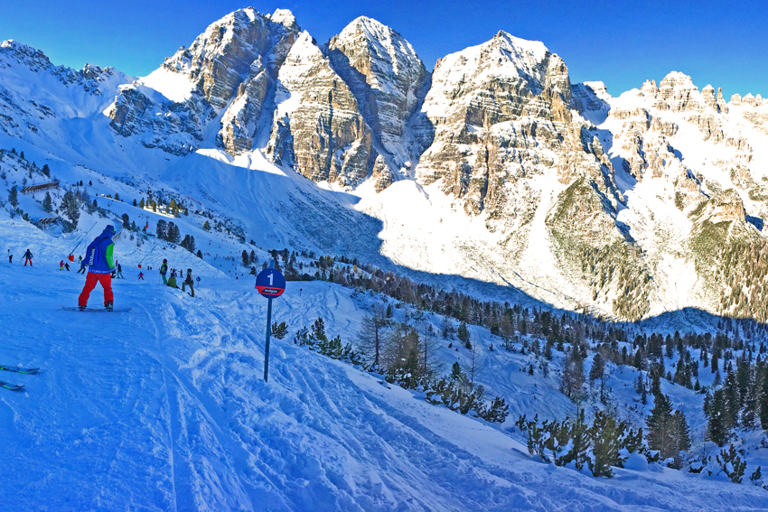 Skifahren in unserem Hausskigebiet Schlick2000